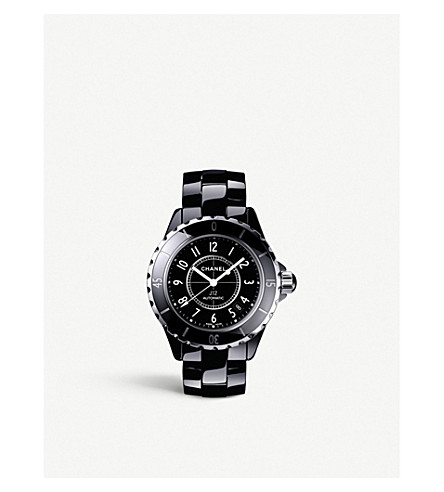 CHANEL H0685 J12 38mm high-tech ceramic and steel watch