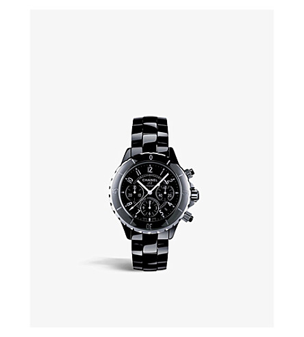 CHANEL H0940 J12 41mm black high-tech ceramic and steel watch