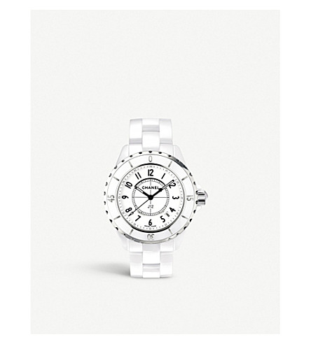CHANEL H0968 J12 33mm high-tech ceramic and steel watch