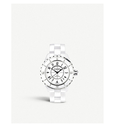 CHANEL H0970 J12 38mm high-tech ceramic and steel watch