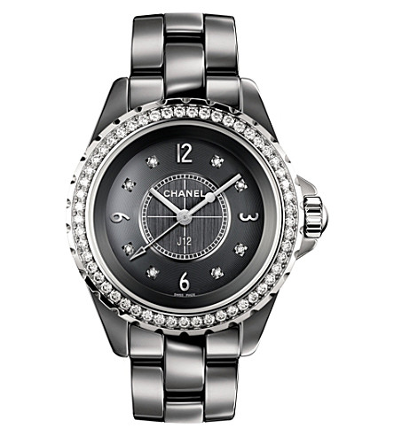 CHANEL H2565 J12 33mm Chromatic Diamonds titanium high-tech ceramic, steel and diamond watch