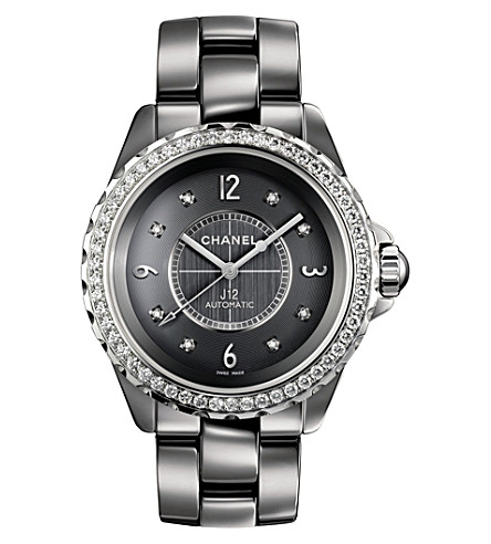 CHANEL H2566 J12 38mm Chromatic Diamonds titanium high-tech ceramic, steel and diamond watch
