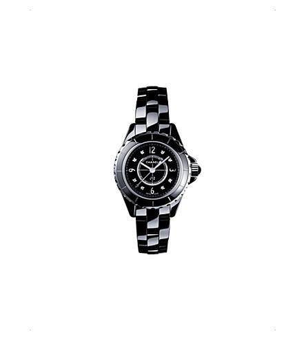 CHANEL H2569 J12 29mm 金刚石表盘高科技陶瓷、钢和金刚石手表