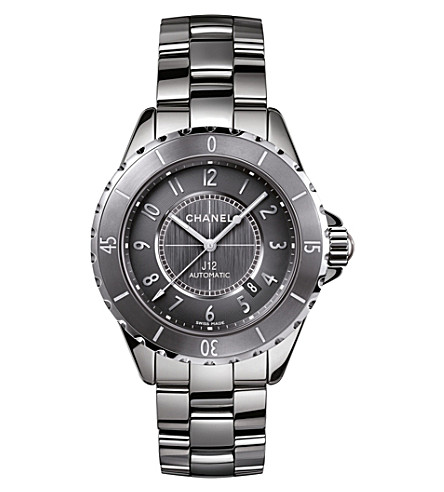 CHANEL H2934 J12 41mm Chromatic titanium and high-tech ceramic watch