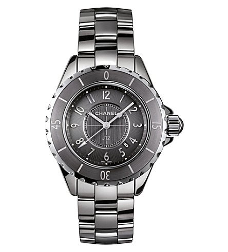 CHANEL H2978 J12 33mm Chromatic titanium and high-tech ceramic watch