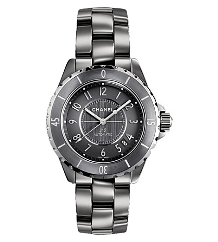 CHANEL H2979 J12 38mm Chromatic titanium and high-tech ceramic watch