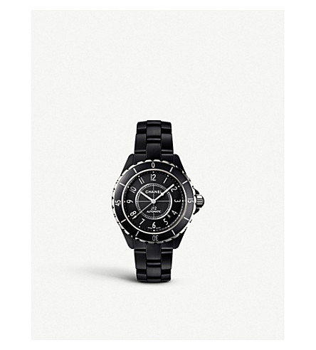 CHANEL H3131 J12 42mm Matte Black high-tech ceramic and steel watch