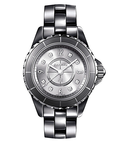 CHANEL H3401 J12 29mm Chromatic Diamond Dial titanium and high-tech ceramic watch