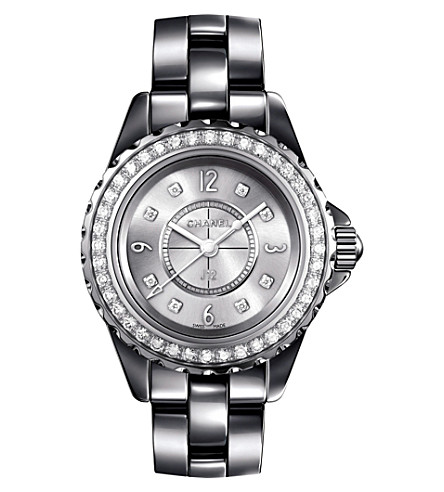 CHANEL H3402 J12 29mm Chromatic Diamonds titanium and high-tech ceramic watch