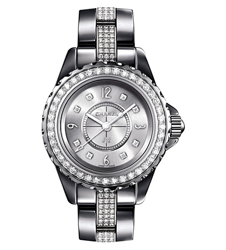 CHANEL H3403 J12 29mm Chromatic Diamonds titanium and high-tech ceramic watch