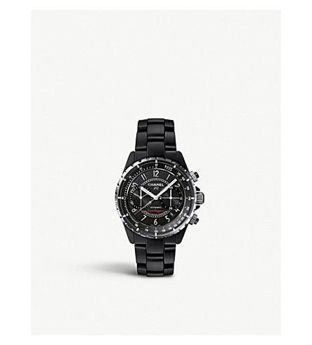 CHANEL H3409 J12 41mm Superleggera 计时腕表高科技陶瓷及钢材手表