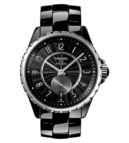 CHANEL H3836 J12 36.5mm 365 high-tech ceramic and steel watch