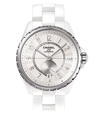 CHANEL H3837 J12 36.5mm 365 high-tech ceramic and steel watch