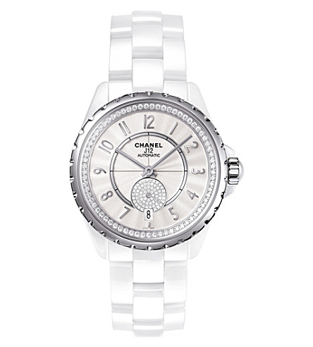 CHANEL H3841 J12 36.5mm 365 high-tech ceramic, steel and diamond watch
