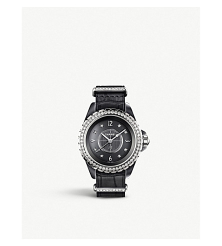 CHANEL H4188 J12 33mm G10 titanium high-tech ceramic and diamond watch