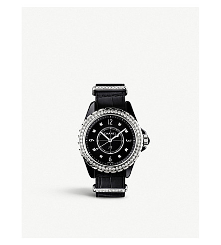 CHANEL H4189 J12 33mm G10 high-tech ceramic, steel and diamond watch