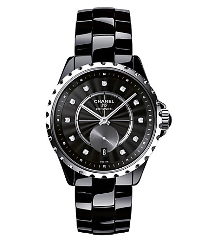 CHANEL H4344 J12 36.5mm 365 high-tech ceramic, steel and diamond watch