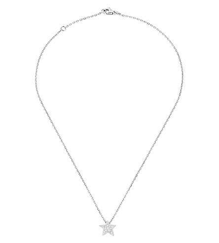CHANEL Comète 18K white gold and diamond pendant. Medium version