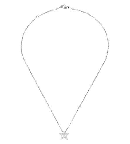 CHANEL Comète 18K 白金和钻石吊坠。中号