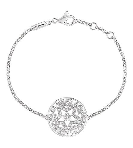 CHANEL Comète 18K white gold and diamond bracelet