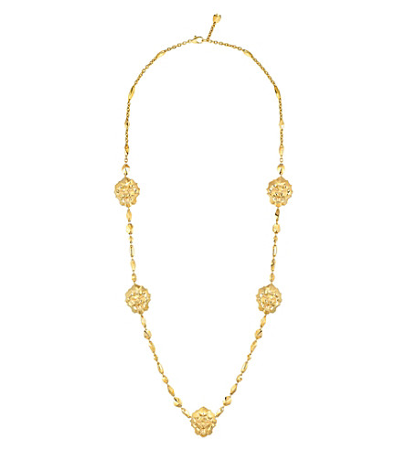 CHANEL Lion 18K yellow gold necklace