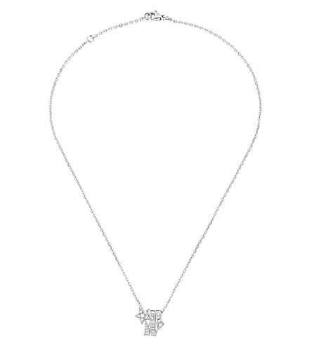 CHANEL Comète 18K white gold and diamond pendant