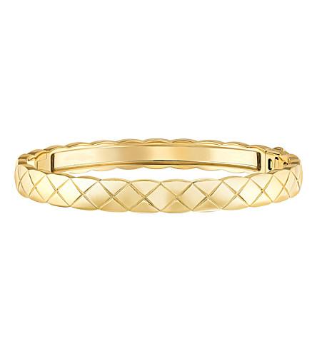 CHANEL Coco Crush 18K yellow gold bangle