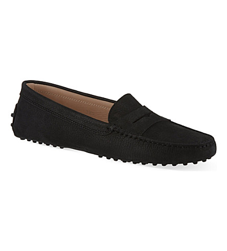 TODS Leather Mocassino loafers (Black