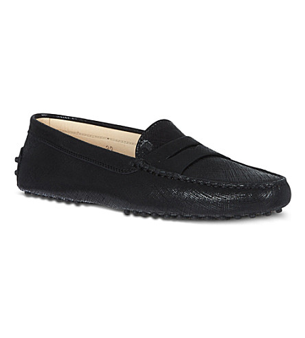 TODS Gommino Driving Shoes in Leather (Blk/other