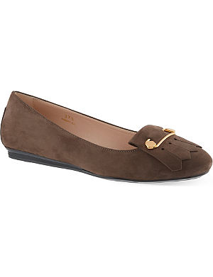 TODS Ballerina pumps in suede