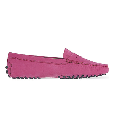 TODS Mocassino loafers (Fushia
