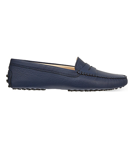 TODS Gommino driving shoes (Navy