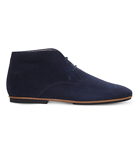 TODS Gomma suede desert boots