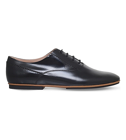 TODS Gomma leather derby shoes