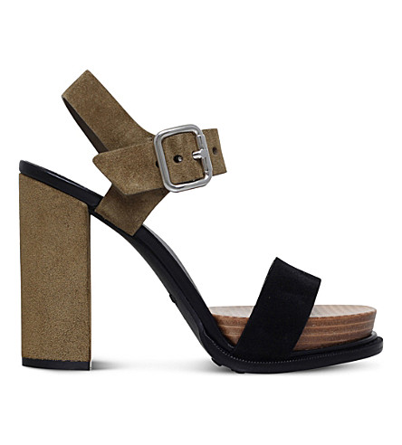 TODS Strappy suede sandals