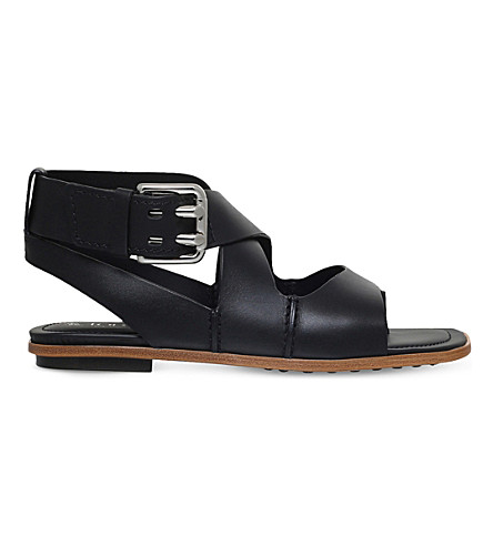 TODS Strappy leather sandals