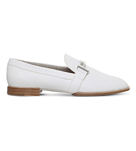 TODS Cudio Max Doppia leather slippers