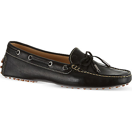 TODS Gommino Heaven Driving Shoes in Leather (Black