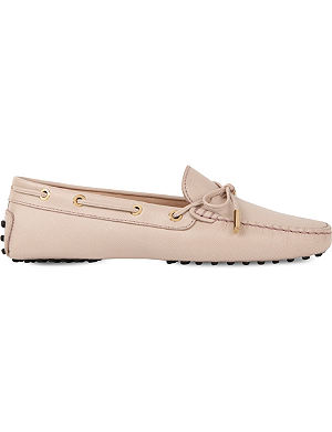 TODS Gommino heaven leather loafers