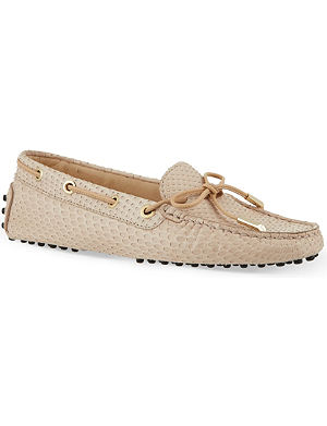 TODS Gom heaven lace driving shoes