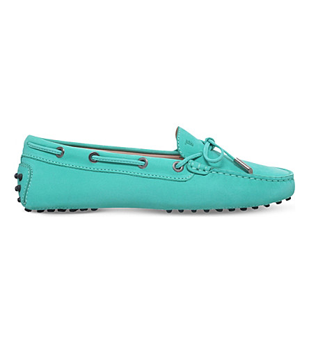 TODS Gommino Heaven lace up leather loafers