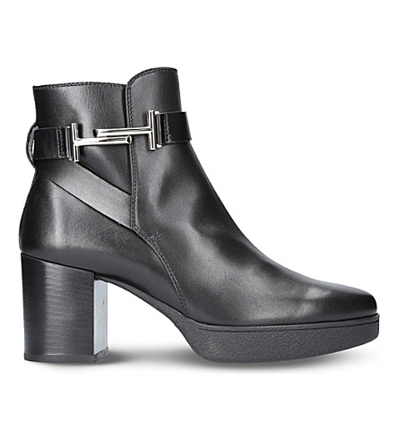 TODS Tod's leather ankle boots (Black