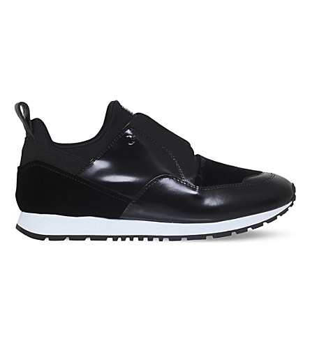 TODS Sportivo leather trainers (Black