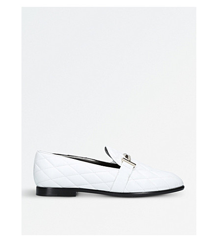 TODS Cuoio leather slippers (White