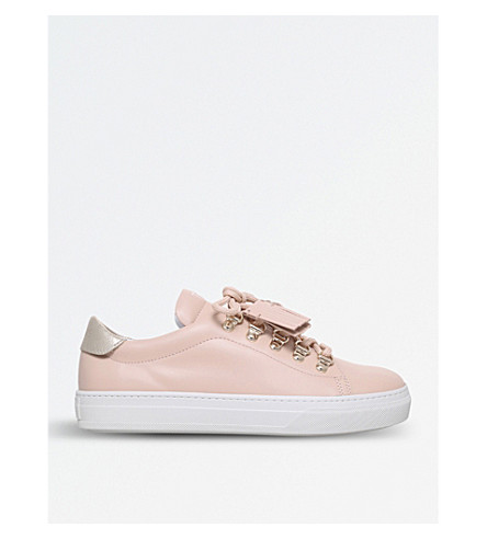 TODS Sportivo XK Ganci leather trainers (Nude