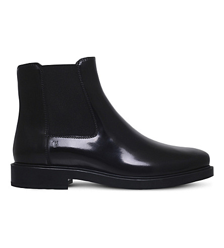 TODS Gomma Tronch leather Chelsea boots (Black