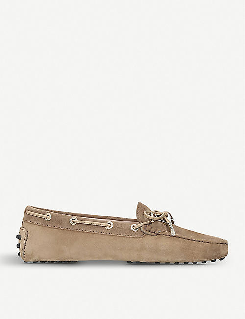 TODS Heaven suede moccasins