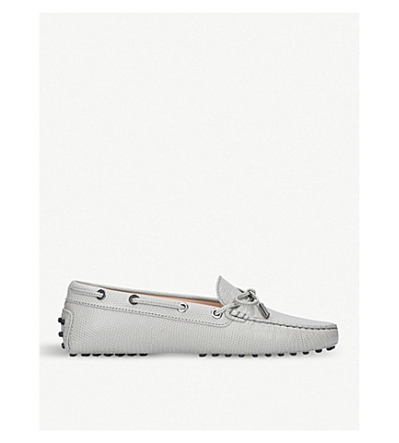 TODS Gommino leather driving shoes (Grey