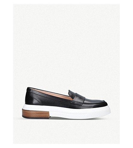 TODS Gomma Travers leather loafers (Black
