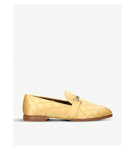 TODS Mocassino quilted leather loafers (Other